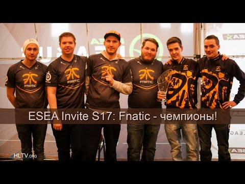 ESEA Invite S17: Fnatic празднуют победу! - 08-12-2014 - WES Cyber News