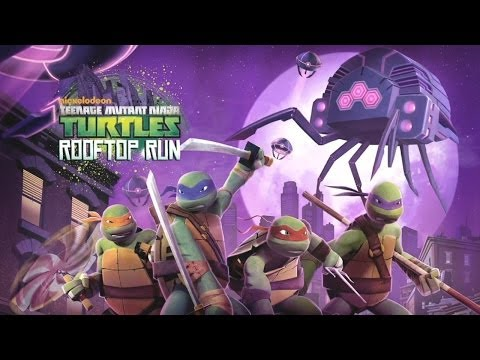TMNT: ROOFTOP RUN - нинздя черепашки  на Android ( Review)