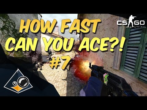 CS:GO - How fast can you ACE?! #7