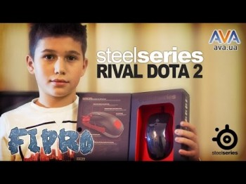 Обзор Steelseries Rival Dota 2 от Fipro и AVA.ua