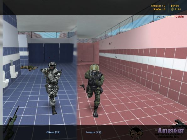 Counter-Strike 1.6 Zombie Assault
