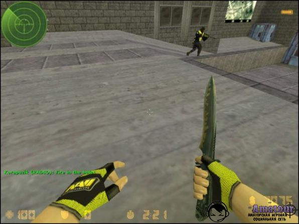 Скачать Counter-Strike 1.6 от NaVi
